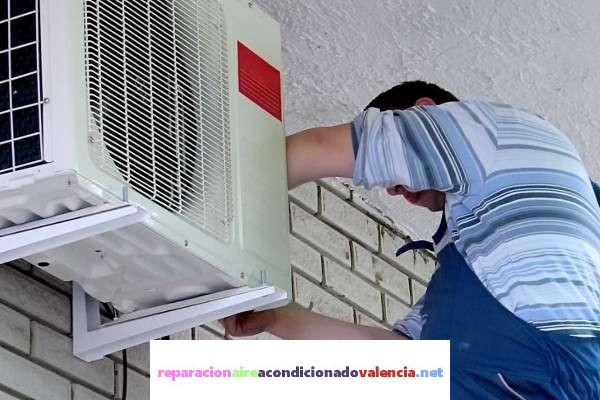 mantenimiento aire acondicionado calle Ciscar